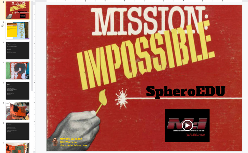 Mission Impossible: The Engineering Process with SpheroEDU
