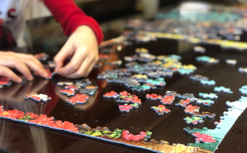 Puzzling a Positive Attitude of Acceptance