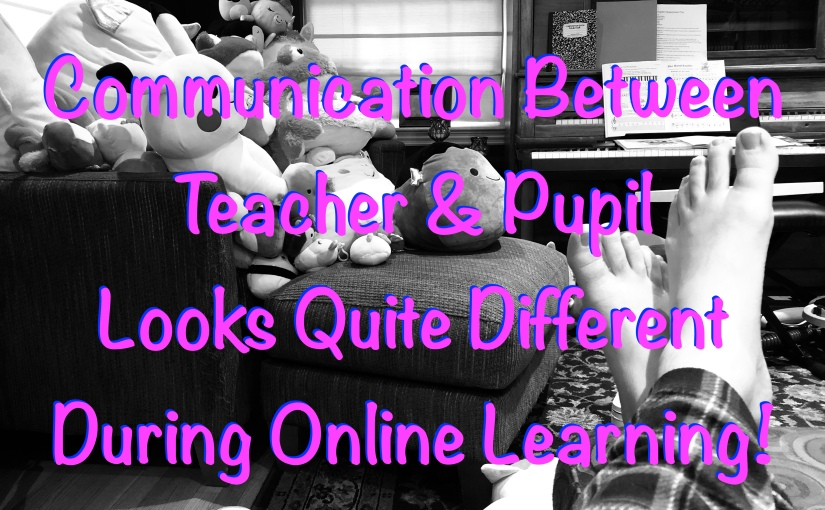 Communication During Online Learning