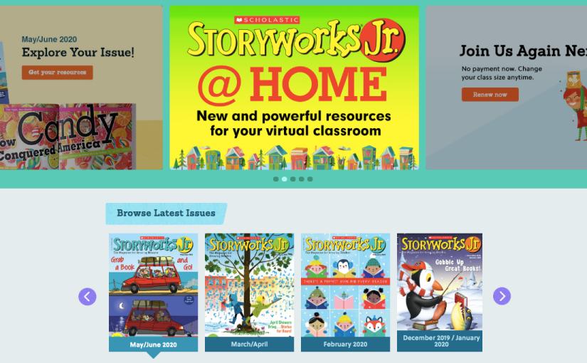 Storyworks Junior: #OnlineLearning ToolExtraordinaire