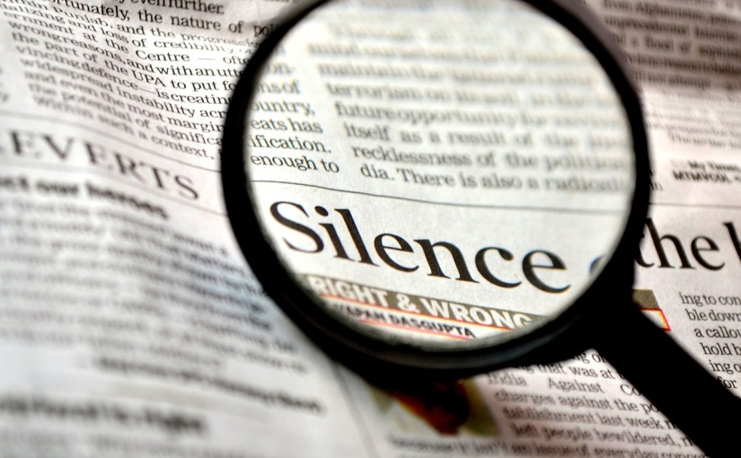 Silence Is Not Classy: First in a Series of Blogs About Race